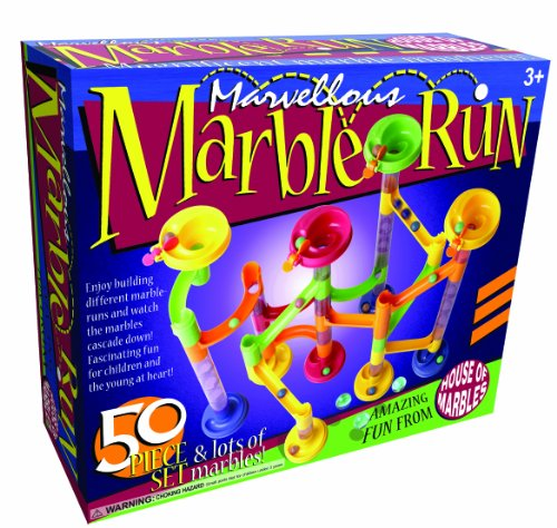 50 piece Marble Run + lots of marbles!