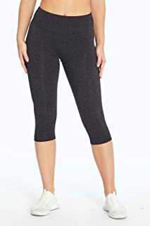 Bally Total Fitness Womens Tummy Control Capri Legging