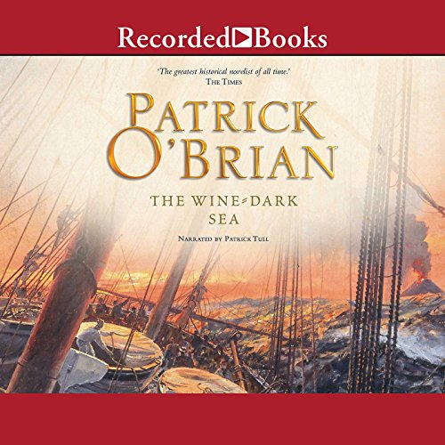 The Wine-Dark Sea audiobook cover art