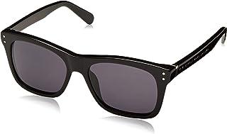 نظارة شمسية سونينبريل للاطفال من مارك جايكوبز طراز Marc159s-807ir-48، بلون اسود/رمادي، 48