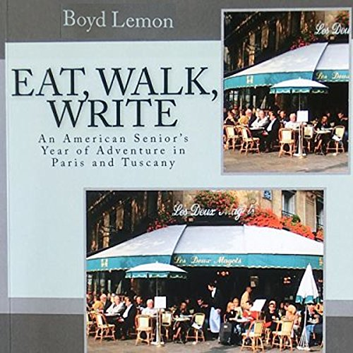 Eat, Walk, Write audiobook cover art