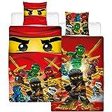 Biber Kinder-Wende-Bettwäsche Lego Ninjago Champion Fire