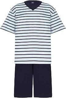 Conjunto De Pijama Curto Gola V, Lupo, Meninos