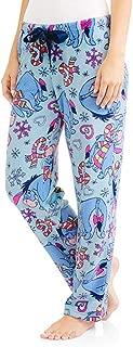 Eeyore Women's License Pajama Super Minky Plush Fleece Sleep Pant