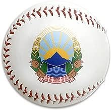 X-JUSEN Coat of Arms of Former Yugoslav Republic of Macedonia National Emblem Baseballs Game Ball Softball