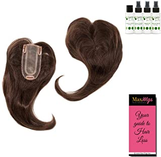 Add-On Part Topper Color MEDIUM BROWN - Envy Wigs 12