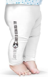 Twisted Envy All You Need Is A Husky Baby Funny Leggings