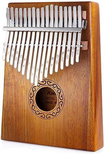 Nabance Kalimba 17 Clés Piano à pouce Professionnel De Haute Qualité Instrument de Musique avec Tuning Hammer et 7 Ac...