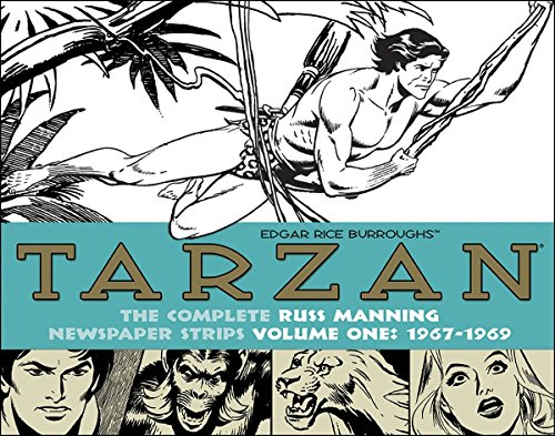 Image of Tarzan: The Complete Russ Manning Newspaper Strips, Vol. 1 (1967-1969)