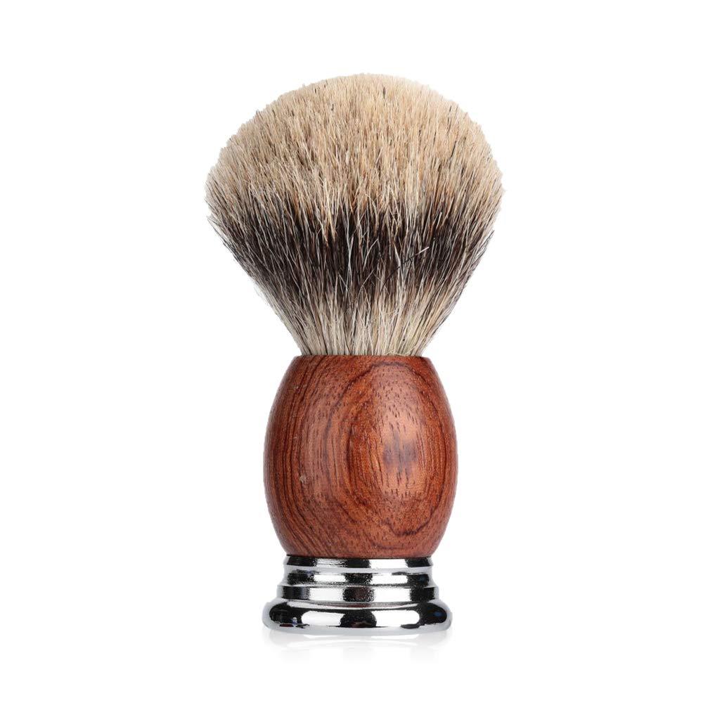 JOLI 100% Max 67% OFF Pure Badger Hair Surprise price Shaving With Brush Handmade Wo Walnut
