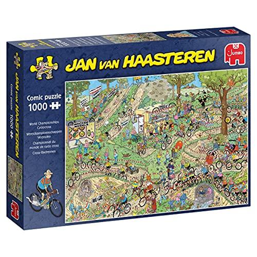 Jumbo- Jan Van Haasteren - WC Ciclo Cruz 1000 Piezas Rompecabezas (19174)
