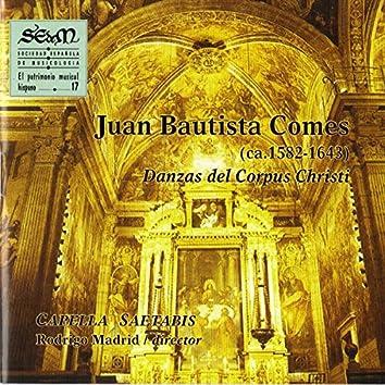 Juan Bautista Comes : Danzas del Corpus Christi