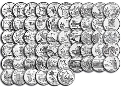 Kentucky State - Calamita da frigo, 5,7 cm, moneta del quarto degli Stati Uniti