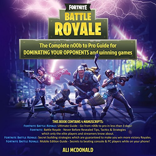 Fortnite Battle Royale: 4 in 1 Boxset  cover art