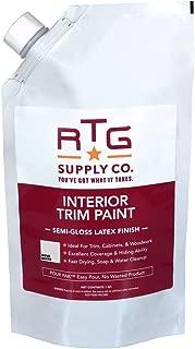 RTG Interior Trim Paint (Quart, Dove White)
