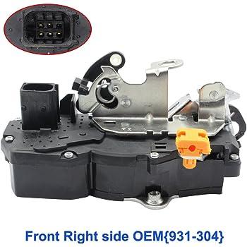 Amazon Com Door Lock Actuator 931 304 Front Right Passenger Sides Fits Chevy Lock Actuators 20783852 Power Door Lock Actuator Motor Automotive
