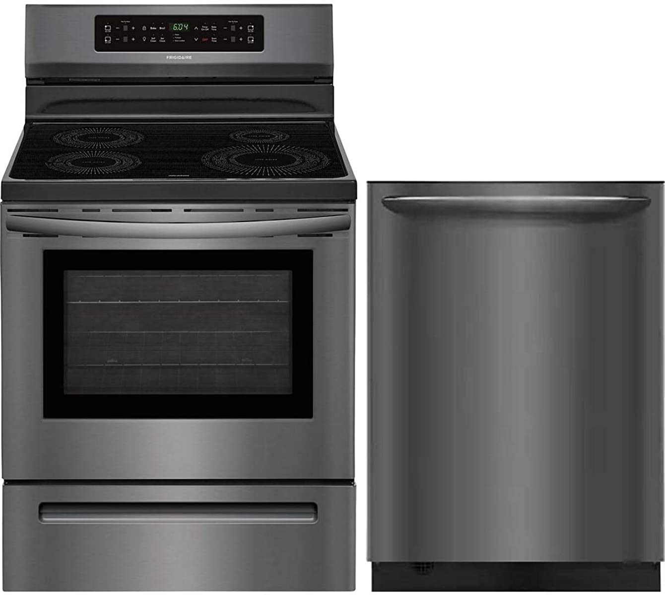 Frigidaire 2 Piece Kitchen Appliance Package with FFIF3054TD 30