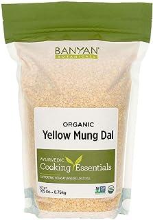 Sponsored Ad - Banyan Botanicals Organic Yellow Mung Dal - Certified USDA Organic - Non GMO - Vegan - GF - Ayurvedic Food ...