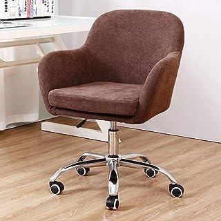 Computerstoelen Voor Thuis/Draaistoelen Bureaus/Thuiskantoorstoel/Koffiestoel Voor In De Woonkamer/Stoffen Draaistoel Afne...