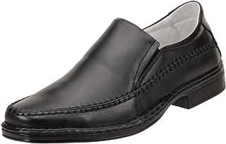 Sapato Social Cla-Cle Couro Comfort Preto 007