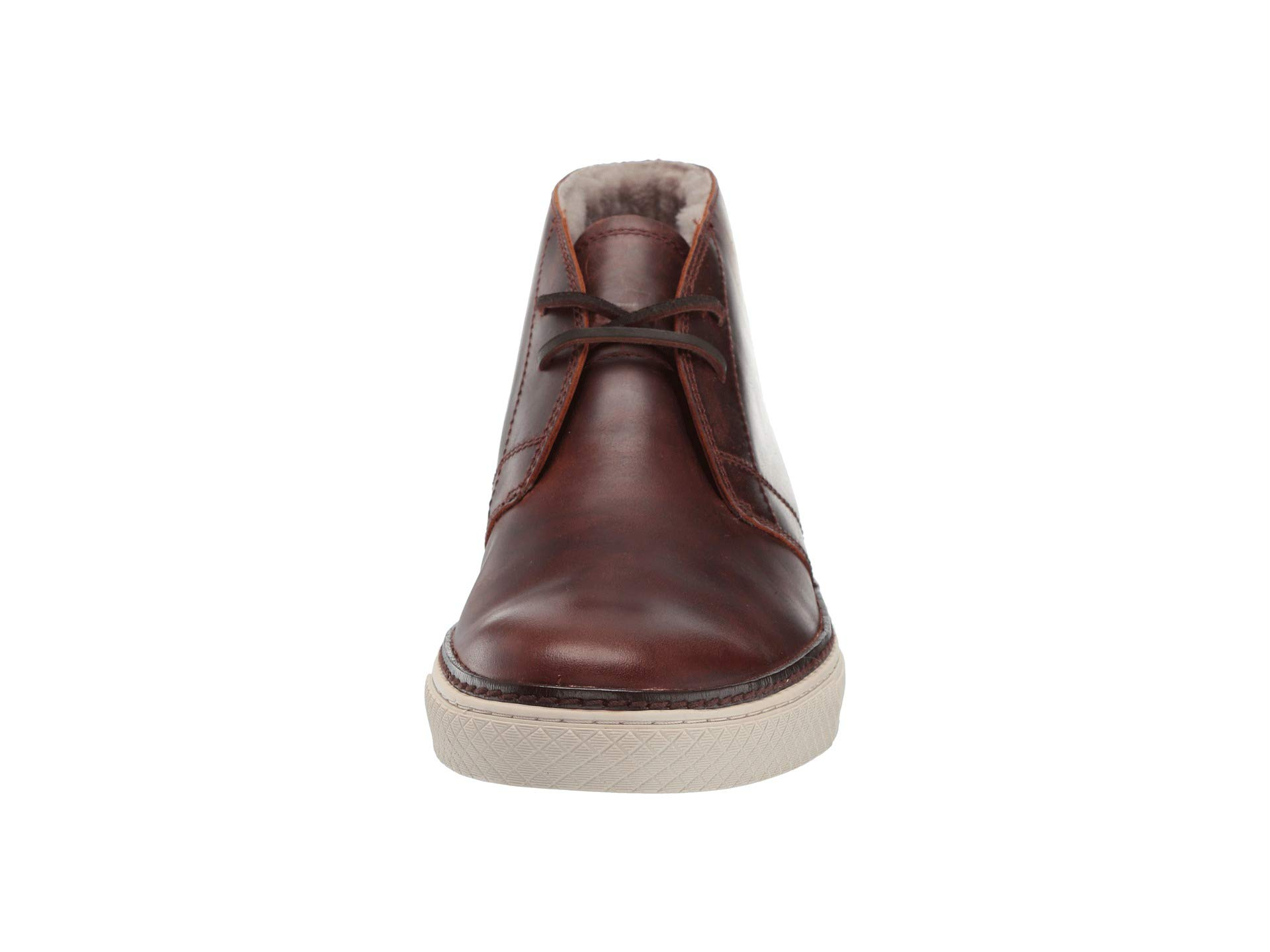 Smooth Wp Pull Chukka Essex Dark shearling up Brown Frye qwnHPvX1