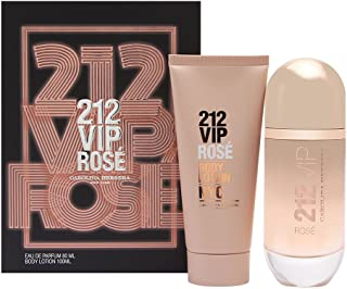 Carolina Herrera 212 VIP Rosé Gift Set 2.7oz (80ml) EDP Spray + 3.4oz (100ml) Body Lotion