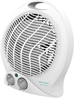 Cecotec Calefactor Eléctrico de Baño Bajo Consumo Ready Warm 9790 Force. 2000 W, Termostato Regulable, 2 Niveles, 3 Modos ...