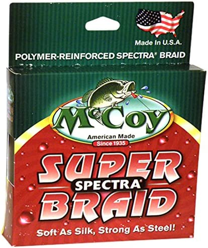 McCoy Fishing Albuquerque Mall 2021 model Super Spectra Braid Line