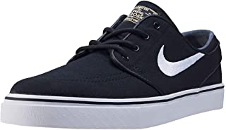 Nike Men's Zoom Stefan Janoski CNVS Skate Shoe Blk/White/Gm Lght 7 D(M) US