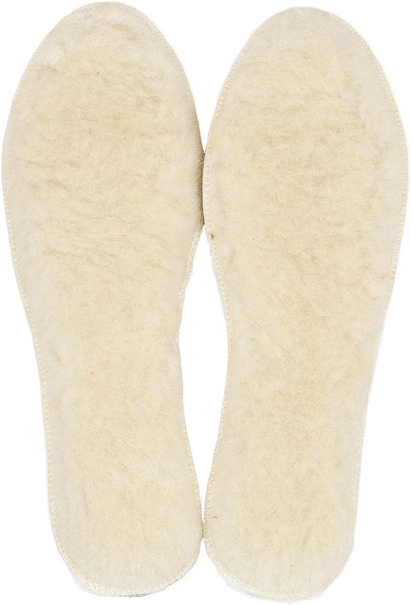 LAMBAA Unisex Sheep Wool Fleece Cozy Excellent Warm New mail order Soft Insoles