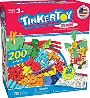 Tinkertoy 30 Model, 200 Piece, Super Building Set [並行輸入品]