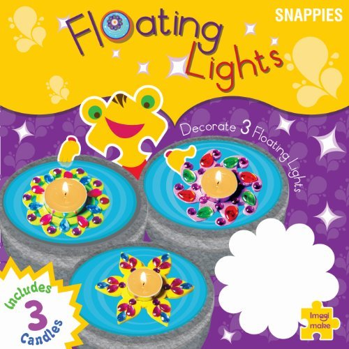 Imagimake Floating Lights : Make and decorate floating candles