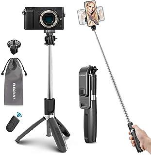 ELEGIANT Selfie Stick med Bluetooth-stativ, 4 i 1 mobil Selfie-stick med trådlös fjärrkontroll, utdragbar sportresa, monop...