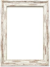 Löffel Nussbaum Distressed - A4 - Vintage Bilderrahmen Industrie-Look im Shabby Chic/Camouflage Foto-/Posterrahmen - Die Rahmengrösse beträgt 32 mm breit und 18 mm tief