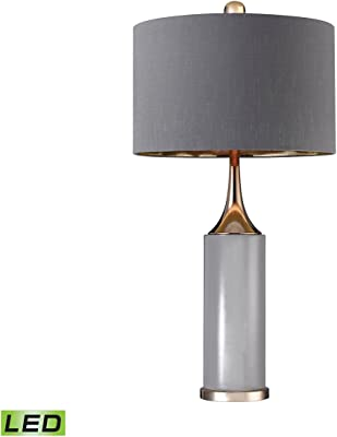 Elk Lighting D2749-LED Table-Lamps, Gold, Grey