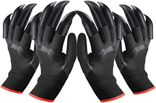 FX Garden Gloves with Claws for Women and Men Both Hands, Farmer and Gardener Gardening Genie Gloves Quick and Easy to Dig...