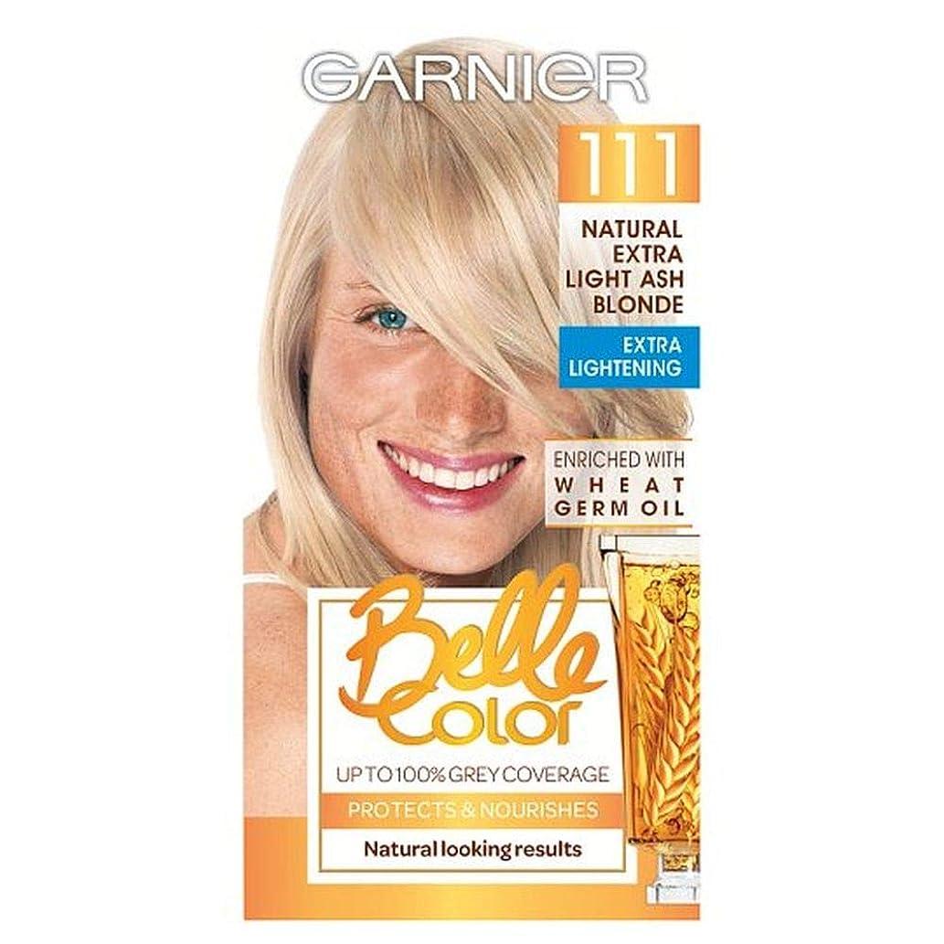 飢えた反発するシリンダー[Belle Color ] ガーン/ベル/Clr 111余分な光灰ブロンドパーマネントヘアダイ - Garn/Bel/Clr 111 Extra Light Ash Blonde Permanent Hair Dye [並行輸入品]