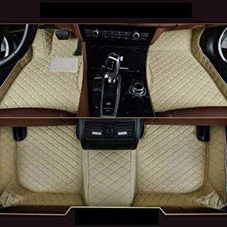 Gullivery para Range Rover Sport 2010-2013 - Alfombrillas para Coche A Medida - Antideslizantes Impermeable Protección Delantero+Trasera,Beige