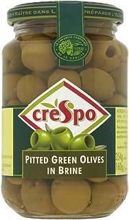 Crespo Aceitunas Verdes Sin Hueso (354g) (Paquete de 2)
