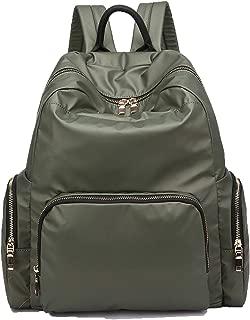 YUNS Nylon Waterproof Backpack Lightweight School Bags Laptop Backpack Waterproof Top Handle Durable Backpack