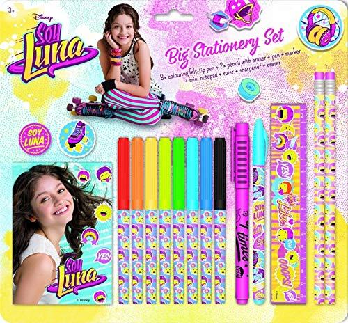 Big stationery set Soy Luna (SET CREATIVOS)