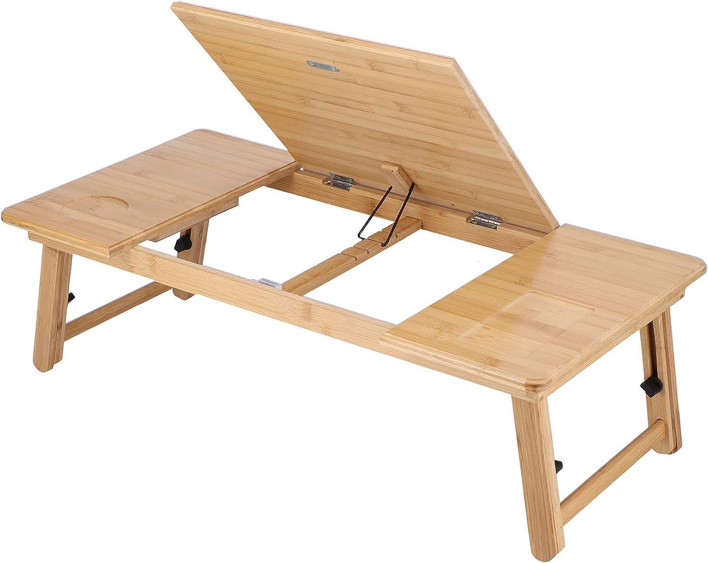 Portable Bed Table National uniform free shipping Folding Desk Craftsma Over item handling ☆ Exquisite Laptop