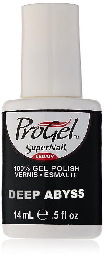 無臭窓を洗う内なるSuperNail ProGel Gel Polish - Deep Abyss - 0.5oz/14ml