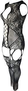 Yelete Killer Legs Women One Size/Plus Size Exotic Mini Dress Babydoll Bodystocking