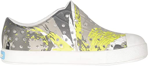 Shell White/Shell White/Green Multi Splatter