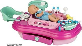 Chicos - Nursery Center de juguete, Completo Set con 3 Espacios para Cuidar a tu Bebé con 13 Accesorios Incluidos, a Partir de 3 Años, Multicolor, Medidas: 57 x 29 x 79 cm (87458)