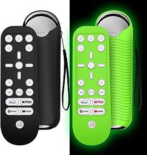 2 Pack Case for PS5 Media Remote Case Cover,Silicone Playstation 5 Media Remote Case Cover,Sony Playstation 5 Remote Skin ...