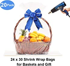 shrink wrap basket bags wholesale