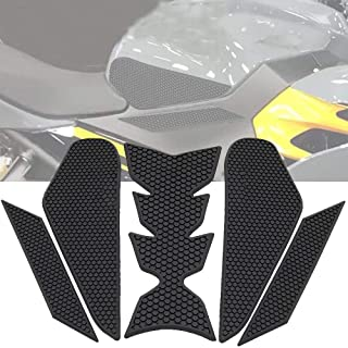 with Logo Motorcycle Tank Pads Fuel Tank Traction Side Pad Knee Grip Decal Protective Stickers for Kawasaki Ninja 400 2018 2019