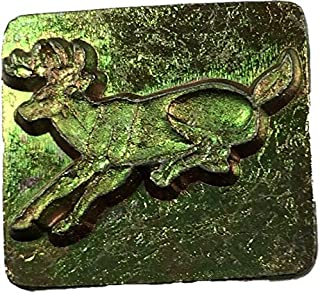 Springfield Leather Company Leaping Deer 3D Leather Stamp (Left Facing)